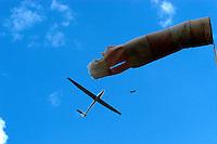 Segelflugzeug, Windsack, Windenstart