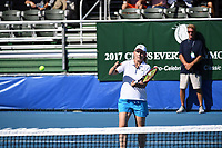 DELRAY BEACH, FL - NOVEMBER 05: Martina Navratilova participates in the 28th Annual Chris Evert/Raymond James Pro-Celebrity Tennis Classic at Delray Beach Tennis Center on November 5, 2017 in Delray Beach, Florida<br /> CAP/MPI/HOO<br /> &copy;HOO/MPI/Capital Pictures