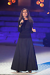 Singer Ana Belen performs during 2014 Theater Ceres Awards ceremony at Merida, Spain. August 28, 2014. (ALTERPHOTOS/Victor Blanco)