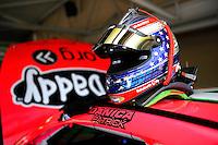 Danica Patrick's helmet (#10)