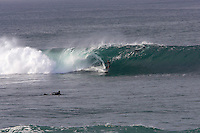 Surfing at Big Rock , La Jolla, California , USA .December 2006.pic copyright Steve Behr / Stockfile