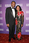 """Howard and Paulette Bradnock arrive at the Alvin Ailey American Dance Theater """"Modern American Songbook"""" opening night gala benefit at the New York City Center on November 29, 2017."""