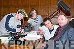 They're rolling: On the film set of Heresis in Listowel on Friday were Tommy and Leanne Fitzgerald, Lixnaw, Patrick Ryan, Kenmare and Chris Fitzgerald, Lixnaw.   Copyright Kerry's Eye 2008