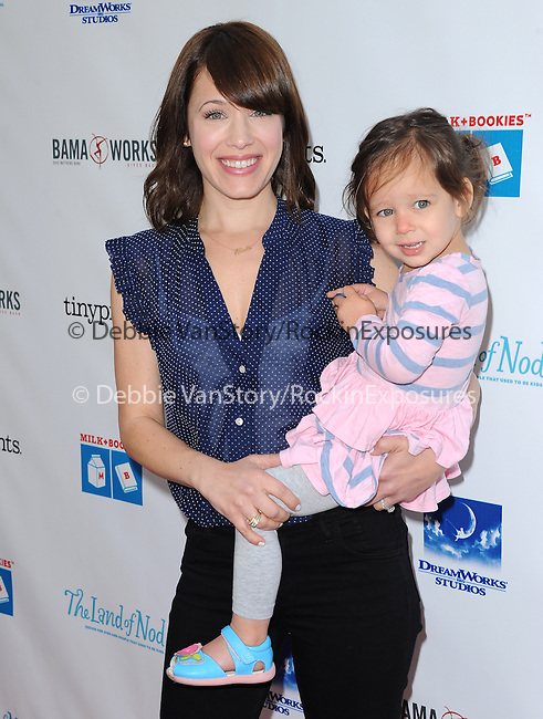 Marla Sokoloff  attends The Milk + Bookies Story Time Celebration held at The Skirball Center in Los Angeles, California on April 27,2014                                                                               © 2014 Hollywood Press Agency