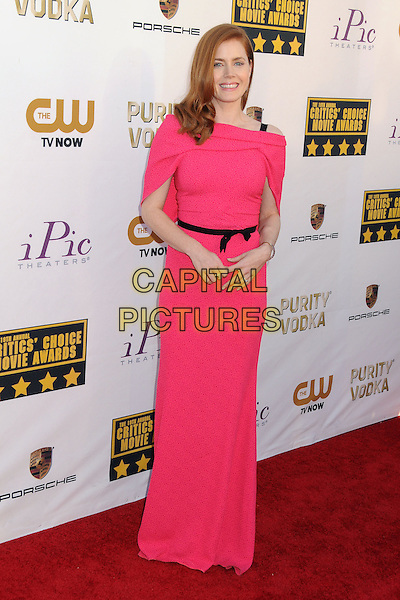 LOS ANGELES, CA - JANUARY 16:  - Amy Adams. 19th Annual Critics' Choice Movie Awards held at Barker Hangar. <br /> CAP/ADM/BP<br /> &copy;Byron Purvis/AdMedia/Capital Pictures