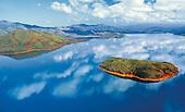 Lac de Yaté, sud calédonien