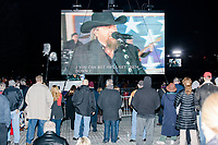 Country singer Toby Keith performs during the Make America Great Again! Welcome Celebration honoring soon-to-be president Donald Trump at the Lincoln Memorial in  Washington, D.C., on Thurs., Jan. 19, 2017, the day before the presidential inauguration of Donald Trump. The event had musical performances, speeches, and an appearance by Trump and his family.