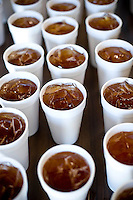 Sweet Tea adds to the BBQ lunch at the Lions Club auction in Seaboard, NC.