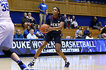 13 November 2016: Penn's Michelle Nwokedi. The Duke University Blue Devils hosted the University of Pennsylvania Quakers at Cameron Indoor Stadium in Durham, North Carolina in a 2016-17 NCAA Division I Women's Basketball game. Duke defeated Penn 68-55.