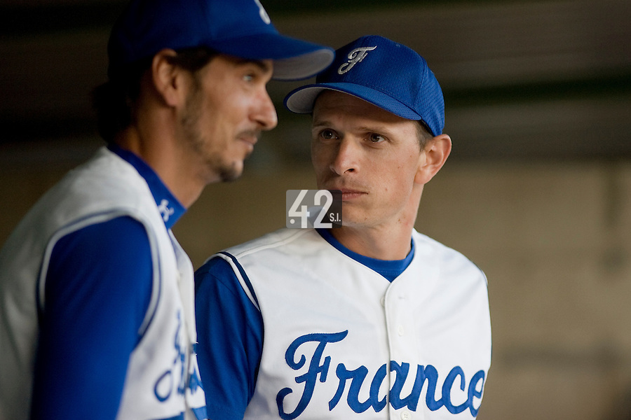 BASEBALL - GREEN ROLLER PARK - PRAGUE (CZECH REPUBLIC) - 28/06/2008 - PHOTO: CHRISTOPHE ELISE.COACH FABIEN PROUST (TEAM FRANCE)