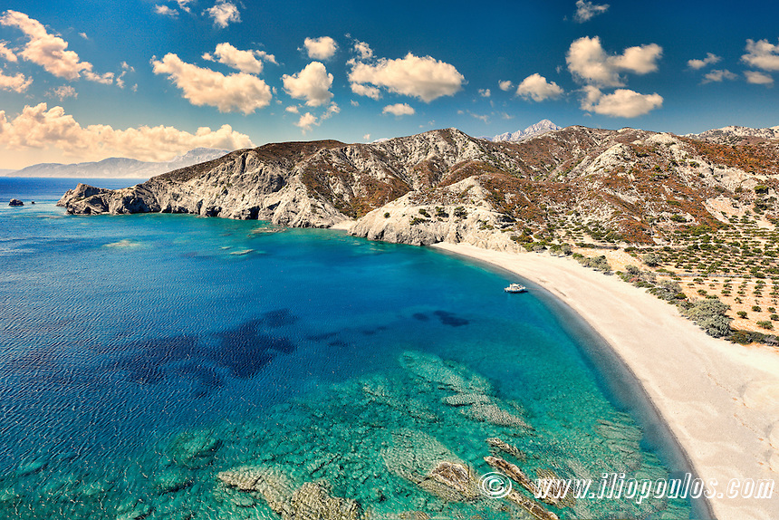 Agios Minas is the most exotic beach of Karpathos, Greece