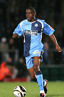 Nathan Ashton of Wycombe Wanderers, former Charlton and Fulham player who represented England at U19 level in action during Wycombe Wanderers vs Birmingham City, Carling Cup Football at Adams Park on 13th August 2008