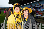 Pictured at Pairc Ui Chaoimh on Sunday for the Crokes v  Castlehaven senior club final game were l-r: Kathleen Connolly and Meela O'Connell..