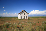 Abandoned house in the San Luis Valley, Colorado, USA
