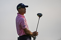 Jonathan Byrd (USA) watches his tee shot on 11 during day 1 of the Valero Texas Open, at the TPC San Antonio Oaks Course, San Antonio, Texas, USA. 4/4/2019.<br /> Picture: Golffile   Ken Murray<br /> <br /> <br /> All photo usage must carry mandatory copyright credit (&copy; Golffile   Ken Murray)