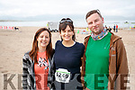 Pictured at the Brandon Bay Half Marathon and 10k on Saturday were Treasa Hanniffy (Galway), Melissa and Kirk Hall (Canada)