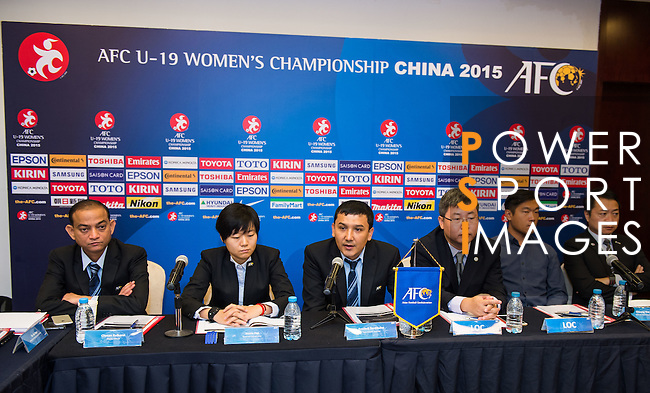 AFC Match Coordination Meeting (MCM) Group B during the AFC U-19 Women's Championship China at the Suti Fangshan Sports Apartment on 18 August 2015 in Nanjing, China. Photo by Aitor Alcalde / Power Sport Images