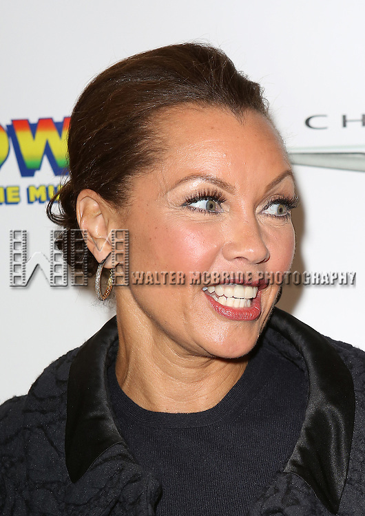 Vanessa Williams  attending the Broadway Opening Night Performance of 'Motown The Musical'  at the Lunt Fontanne Theatre in New York City on 4/14/2013...