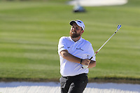 Shane Lowry (IRL) plays his 2nd shot from a fairway bunker on the 5th hole during Saturday's Round 3 of the Waste Management Phoenix Open 2018 held on the TPC Scottsdale Stadium Course, Scottsdale, Arizona, USA. 3rd February 2018.<br /> Picture: Eoin Clarke | Golffile<br /> <br /> <br /> All photos usage must carry mandatory copyright credit (&copy; Golffile | Eoin Clarke)
