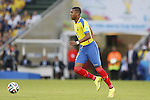 Frickson Erazo (ECU), JUNE 26, 2014 - Football / Soccer : FIFA World Cup Brazil<br /> match between Ecuador and France at the Maracana stadium in Rio de Janeiro, Brazil. (Photo by AFLO) [3604]