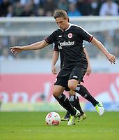 FUSSBALL   1. BUNDESLIGA  SAISON 2012/2013   7. Spieltag   Borussia Moenchengladbach - Eintracht Frankfurt   07.10.2012 Bastian Oczipka (Eintracht Frankfurt)  Einzelaktion am Ball