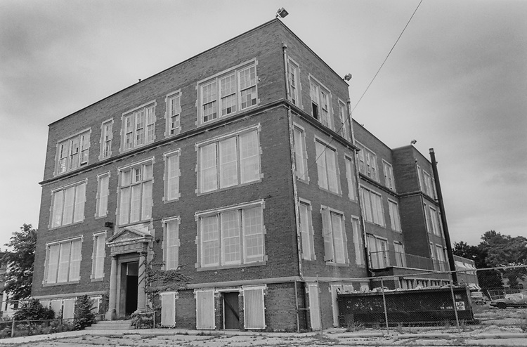 Former Bryan Elementary School, (1325 Independence SE), on June 15, 1995. (Photo by Maureen Keating/CQ Roll Call via Getty Images)