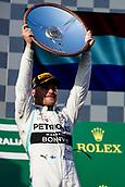 17th March 2019, Melbourne Grand Prix Circuit, Melbourne, Australia; Melbourne Formula One Grand Prix, race day; Valtteri Bottas wins the race