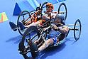 (T-B) Geert Schipper (NED), Giovanni Achenza (ITA), <br /> SEPTEMBER 10, 2016 - Triathlon : <br /> Men's Individual Paratriathlon PT1 <br /> at Fort Copacabana<br /> during the Rio 2016 Paralympic Games in Rio de Janeiro, Brazil.<br /> (Photo by AFLO SPORT)