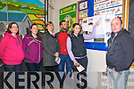 North Kerry Wind Turbine Awareness  Meeting: pictured at a meeting of the North Kerry Wind Turbine Awareness Group meeting held at Dromclough NS on Monday night last were Louise Somers, Jennifer Nolan, Patricia O'Connor, Brendan Dennehy, Lorraine & Peter Molyneaux.