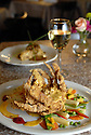 Dick and Jenny's restaurant serves softshell crab and crawfish and andouille cheesecake, New Orleans, Wed., Nov. 7, 2007.