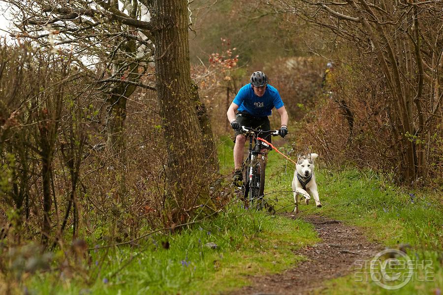 Bikejor , Mildenhall , Marlborough ,  Wiltshire , April   2012 pic copyright Steve Behr / Stockfile