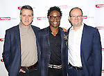 Managing director Elliot Fox, playwright Billy Porter and artistic director Andrew Leynse attend the 'While I Yet Live' Meet & Greet at Primary Stages Rehearsal Studio on September 12, 2014 in New York City