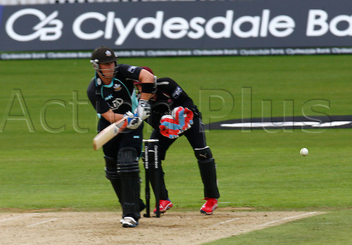 04.05.2012. Brit Oval, London, England.  Rory Hamilton-Brown of Surrey County Cricket..during the Clydesdale Bank Pro40 match between Surrey and Somerset  at The Brit Oval on May 04, 2012 in London, England.........................