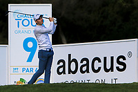 Matthew Jordan (ENG) on the 9th tee during the Pro-Am of the Challenge Tour Grand Final 2019 at Club de Golf Alcanada, Port d'Alcúdia, Mallorca, Spain on Wednesday 6th November 2019.<br /> Picture:  Thos Caffrey / Golffile<br /> <br /> All photo usage must carry mandatory copyright credit (© Golffile | Thos Caffrey)