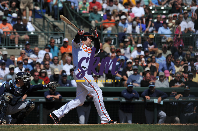 The Baltimore Orioles fell to the Tampa Bay Rays 4-3 Thursday afternoon at Ed Smith Stadium in Sarasota.The Baltimore Orioles fell to the Tampa Bay Rays 4-3 Thursday afternoon at Ed Smith Stadium in Sarasota.