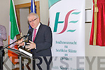 Jimmy Deenihan TD, Minister for Arts, Heritage and the Gaeltacht speaking at the official opening of the Tralee Community Nursing Unit.