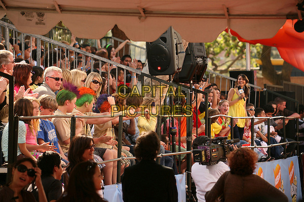 ATMOSPHERE.Nickelodeon's 20th Annual Kids' Choice Awards at UCLA's Pauley Pavilion, Westwood, California , USA,  .31 March 2007..crowd fans people.CAP/ADM/BP.©Byron Purvis/AdMedia/Capital Pictures.
