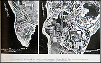BNPS.co.uk (01202 558833)<br /> Pic: PhilYeomans/BNPS<br /> <br /> Luftwaffe aerial photograph of Portland Bill in Dorset.<br /> <br /> Chilling - Hitlers 'How to' guide to the invasion of Britain.<br /> <br /> A remarkably detailed invasion plan pack of Britain has been unearthed to reveal how our genteel seaside resorts would have been in the front line had Hitler got his way in World War Two.<br /> <br /> The Operation Sea Lion documents, which were issued to German military headquarters' on August 1, 1940, contain numerous maps and photos of every town on the south coast.<br /> <br /> They provide a chilling reminder of how well prepared a German invading force would have been had the Luftwaffe not been rebuffed by The Few in the Battle of Britain.<br /> <br /> There is a large selection of black and white photos of seaside resorts and notable landmarks stretching all the way from Land's End in Cornwall to Broadstairs in Kent.<br /> <br /> The pack also features a map of Hastings, raising the possibility that a second battle could have been staged there, almost 900 years after the invading William The Conqueror triumphed in 1066.