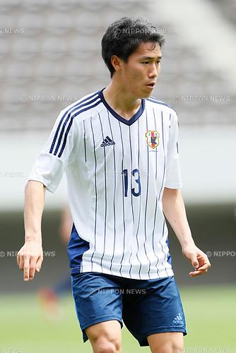 Keita Endo (JPN), <br /> APRIL 18, 2017 - Football / Soccer : <br /> U-20 Japan National team training match <br /> between U-20 - JEF United Chiba <br /> in Chiba, Japan. <br /> (Photo by Yohei Osada/AFLO SPORT)