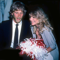 Peter Horton and Michelle Pfeiffer 1982<br /> Photo By Adam Scull/PHOTOlink.net /MediaPunch