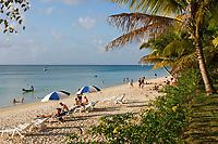 MUS, Mauritius, Trou aux Biches: Strand | MUS, Mauritius, Trou aux Biches: beach