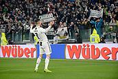 2nd February 2019, Allianz Stadium, Turin, Italy; Serie A football, Juventus versus Parma; Cristiano Ronaldo of Juventus celebrates after scoring the goal for 3-1 for Juventus