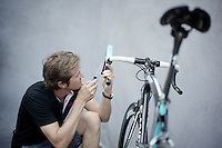 finetuning the bikes to the riders needs<br /> <br /> Tour de France 2013<br /> restday 2