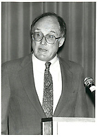 US Supreme court judge William REHNQUIST speak before the Montreal Bar association, september 2, 1987<br /> <br /> <br /> <br /> PHOTO : Agence Quebec Presse