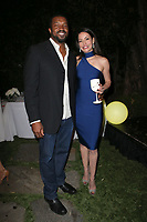 LOS ANGELES, CA - NOVEMBER 4: Roger Cross, Emmanuelle Vaugier, at The 2017 Fluffball Benefiting Forgotten Horses Rescue! at The Lombardi House In Los Angeles, California on November 4, 2017. Credit: Faye Sadou/MediaPunch