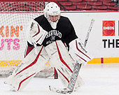 Emily Yue (Harvard - 32) - The Harvard University Crimson practiced at Fenway on Monday, January 9, 2017, in Boston, Massachusetts.