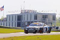 Bill Ziegler, #95 Audi R8, Pirelli World Challenge, Barber Motorsports Park, Leeds, Alabama, April 2014(Photo by Brian Cleary/www.bcpix.com)