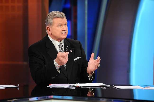January  08, 2012 - Bristol, CT - Studio E:  Sunday NFL Countdown, Mike Ditka. .Credit: Joe Faraoni/ESPN