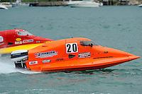 26  July, 2009, Trenton, Michigan USA.Gary Barber (#20).©2009 F.Peirce Williams USA.SST-45 class