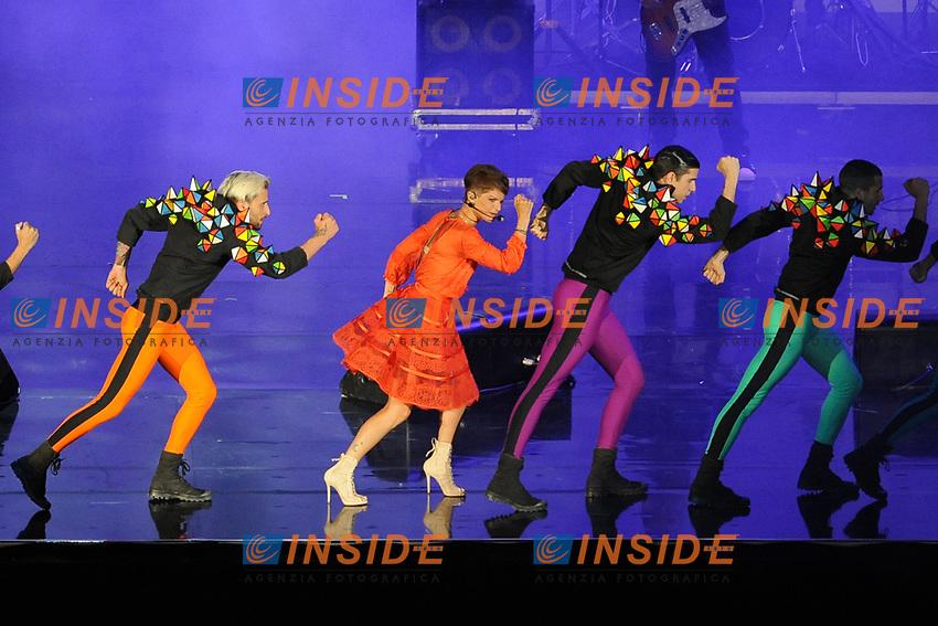 Alessandra Amoroso<br /> Verona 05-06-2017 Arena <br /> Wind Music Awards 2017 <br /> Foto Alberto Anello/Photoring/Insidefoto